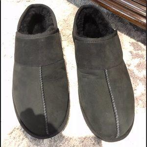 Ugg men's black slip ones size 12 new